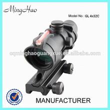 GL4x32c Cross Sight Scope Riflescope with Fiber