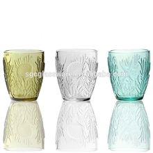 unique design 400ml glass beer mug (machine made)