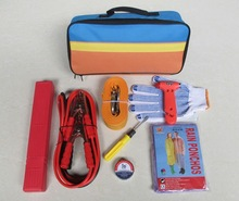 (ACE-328) Car Foldable triangle,Tow rope Car Safety Emergency Tool Kit