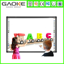 Glass Writing Board magnetic smart boards with smart pens interactive electronic whiteboard offer display screen OEM for schools