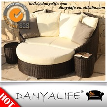 DYBED-D4203 Danyalife Poly Synthesis Wicker All Weather Courtyard Furniture