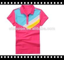 Most popular single jersey polo ladies t shirt,wholesale sport t shirt