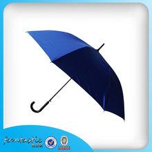 2015 compact Straight Umbrella pure green hook handle Regenschirm