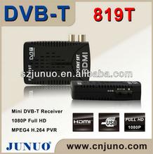 Mini DVB-T HD Mstar 7818 Chipset Solution 1080P Full HD MPEG4 H.264 PVR Digital TV Receiver