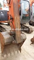 crawler moving type used Doosan DH60-7 crawler excavator with hydraulic engine second hand Doosan DH60-7 6t crawler excavator