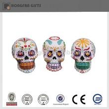 halloween ornament resin craft skull