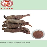 changbai ginseng extracts / red ginseng root P.E. / ginseng products red ginseng extract