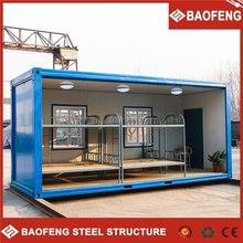 costruzione robusta colore acciaio casa mobile