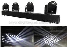 4 head led mini sharpy beam moving head 10w white led beam