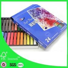 Venta al por mayor profesional artista en colores pastel de la tiza made in china