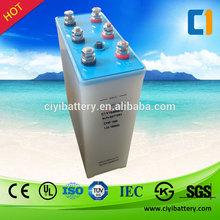 Green Energy Solar Battery NI-FE Battery 1.2V 1000AH Nickel Iron Batteries for sale