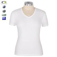Cheap High quality cotton sexy transparent t shirt for women