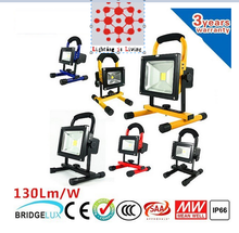50W different colour 12V Input Outdoor Rechargeable Light with 24V100-240V Charger work light Portable Flood light
