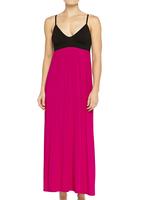 Wholesale Cheap Summer Long Latex Romantic Modal Nightgown