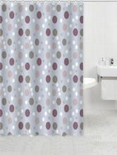 Walmart Bathroom Grey Dots Shower Curtain Product