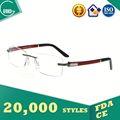 Lenscrafters gafas, mikita gafas, la mitad- llanta marco de anteojos