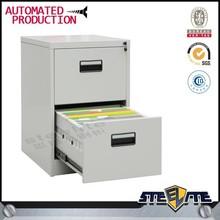 2 drawer lockable filing cabinet/fireproof cabinet/pine filing cabinet 2 drawer