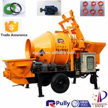 Construction Machine Concrete Mixer Trailer Pump