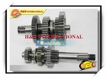 BAJAJ BOXER CT100 motorcycle gear counter shaft,motorcycle main shaft and counter shaft, Motorcycle Main -vice shaft assy