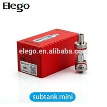 Elego 100% Suthentic KangerTech subtank mini /Nano, Kanger subtank mini atomizer fit for istick 50w