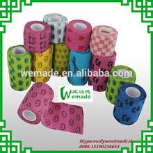 Vetwrap bandages Manufacturing veterinary Dressing products Cohesive Bandage Printed