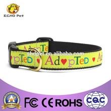 Adopted dog dog collar cute design dog accessary