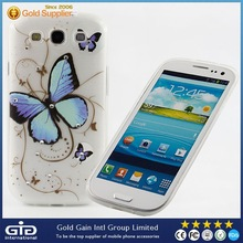 Cell phone case for Samsung S3 , soft tpu case for samsung I9300