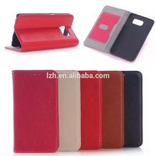 Genuine Leather Lichee Pattern Flip case for Samsung Galaxy S6