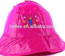 Cheapest PVC kid rain hat for stock