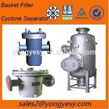 Basket/Pipe filter housing Industry Filter housing