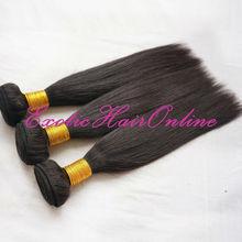 Exotichair black hair bands virgin combodian hair weft