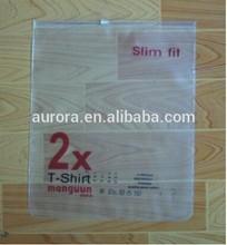 customized plastic bag t-shirt slim fit