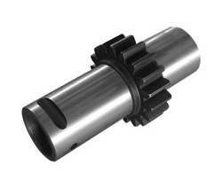 agricultral machine spare parts gear and gear shaft