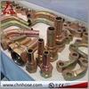R7 R8 R9 R12 R13 R14 ductile iron double flange bend 45