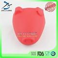 de cerdo de color rojo de silicona en forma de la punta del dedo