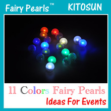 Christmas Event Balloons Decoratives Small Battery Operated floating waterproof led light ball