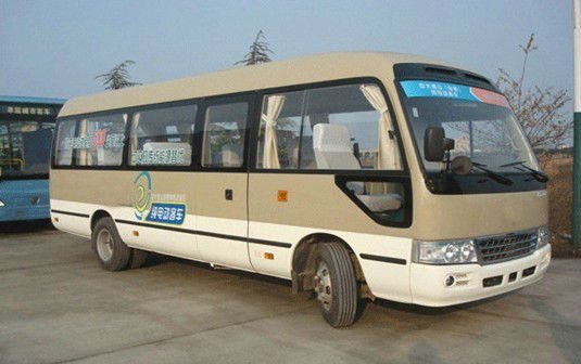 Good quality! DLOB 1002 Electric minibus for city public transportation with 14 seats