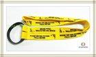 lanyard/neck strap with soft pvc bottle holder