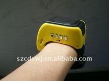 fashion mp3 wrist speaker/ideal gift speaker