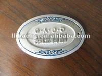 name plate , metal logo, metal sign , name badge