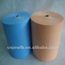 Wave pattern Spunlace polyester viscose