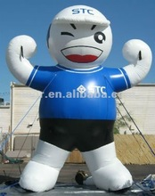 5M tall Promote Inflatable Lucky Boy Moving cartoon/inflatable Model
