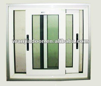 Wanjia horizontale schiebefenster ffnen pvc fenster for Schiebefenster horizontal