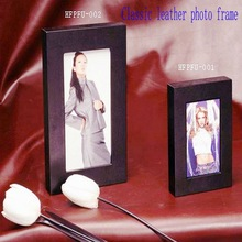 2012 Russia popular promotional flap Eco-friendly leather stand with pen holder card holder deluxe photo frame