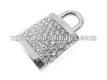 lock jewelry diamond usb flash drive