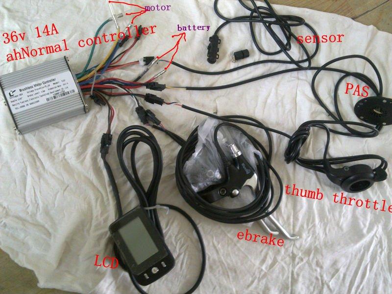 Controlador de bicicleta eléctrica