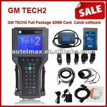 support 6 software , GM tech2 full kit with candi TIS,Tech-2,Opel SAAB Isuzu Suzuki GM vetronix with top quality
