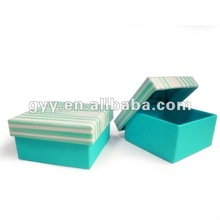Square sugar color printing cardboard box for birthday gift packaging