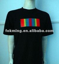 HANDSOME! Man round-neck EL T-shirt