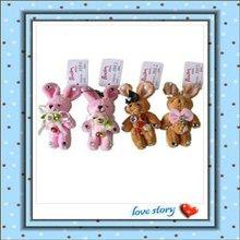 Plush Valentine Rabbit With Jewel Toy